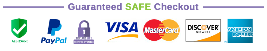 Accepted Credit Cards and Paypal