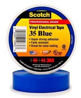 3M 35-BLUE-1/2X20FT 3M 35-BLUE-1/2X20FT