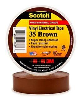 3M 35-BROWN-1/2X20FT 3M 35-BROWN-1/2X20FT
