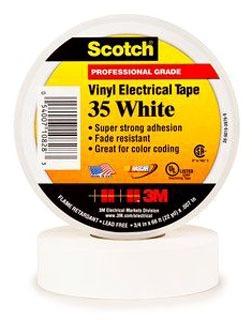 3M 35-WHITE-1/2X20FT 3M 35-WHITE-1/2X20FT