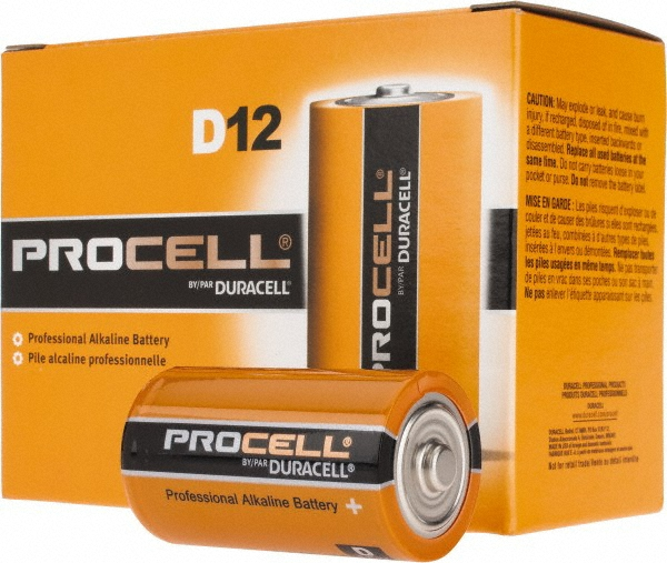 Duracell PC1300-12 Duracell Alkaline D PC1300 12 PACK