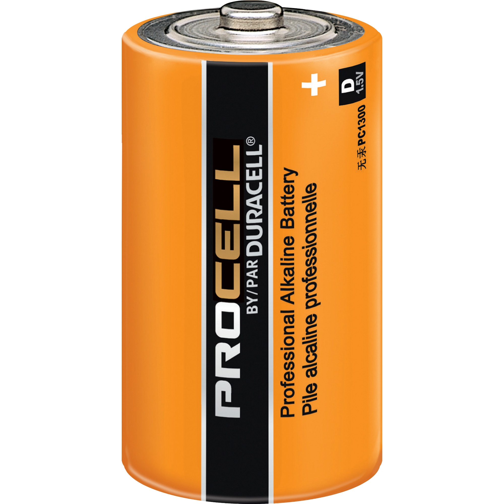Duracell PC1300 Duracell Alkaline D PC1300 Single