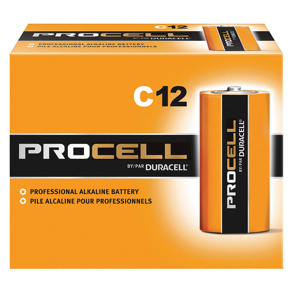 Duracell PC1400-72 Duracell Alkaline C PC1400 72 PACK