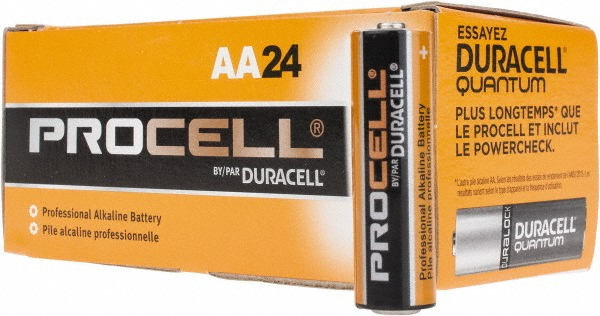 Duracell PC1500-144 Duracell Alkaline AA PC1500 144 PACK (CASE)