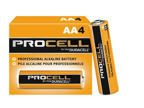 Duracell PC1500-4 Duracell Alkaline AA PC1500 4 PACK