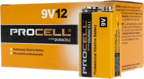 Duracell PC1604-12 Duracell Alkaline 9V PC1604 12 PACK