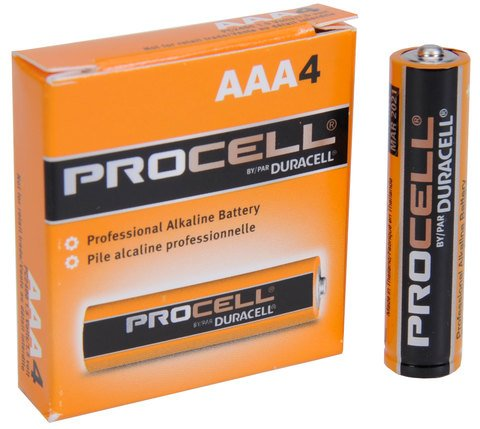 Duracell PC2400-4 Duracell Alkaline AAA PC2400 4 PACK