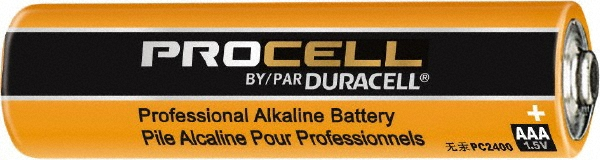 Duracell PC2400 Duracell Alkaline AAA PC2400 Single