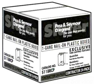 Pass & Seymour S1-18-RCP PASS & SEYMOUR S1-18-RCP