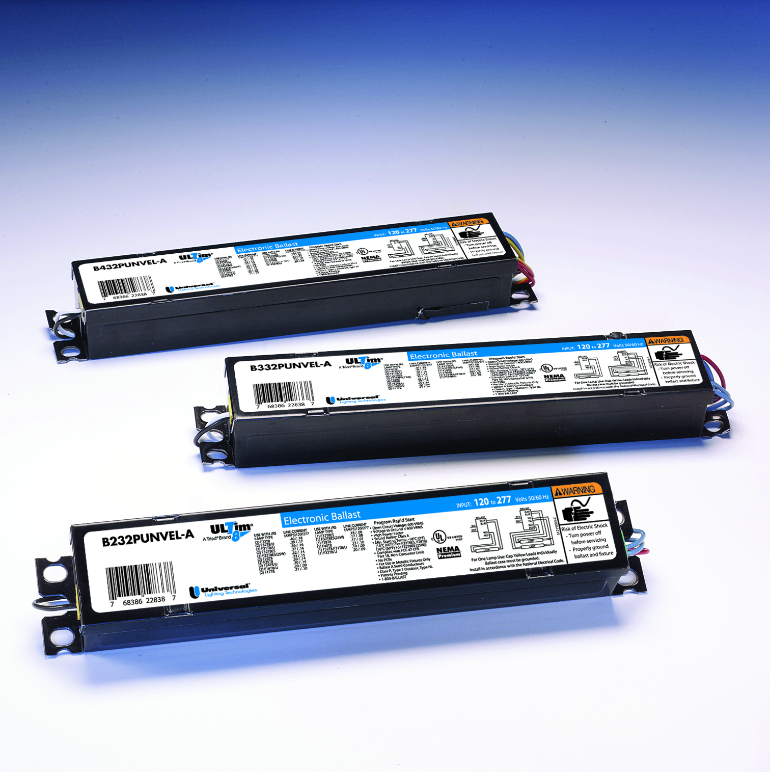 Universal Lighting Technologies B232IUNVHP-N000I UNIVERSAL LIGHTING TECH B232IUNVHPN000I