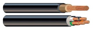 Wire, Cable & Cords W-ROUND-CABLE-1/0-4-250R COPPER WIRE W-ROUND-CABLE-1/0-4-250R
