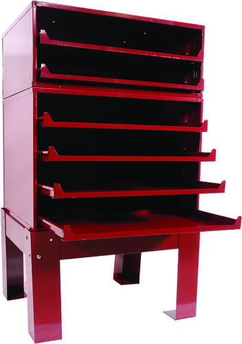 600-4RHB 4-DRAWER CABINET BASE, HEAVY DUTY ROLLER RACK