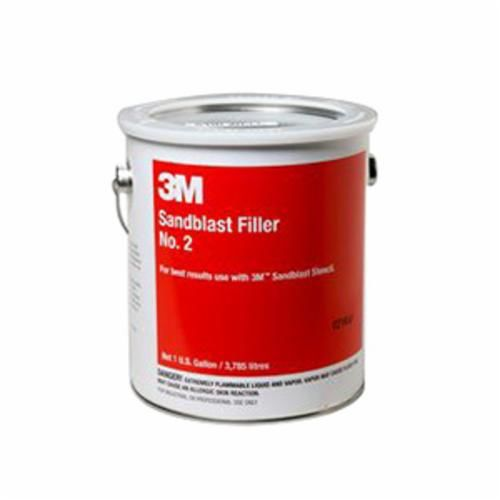 3M™ 021200-10960 Sandblast Filler, 1 gal, Liquid, Light Beige