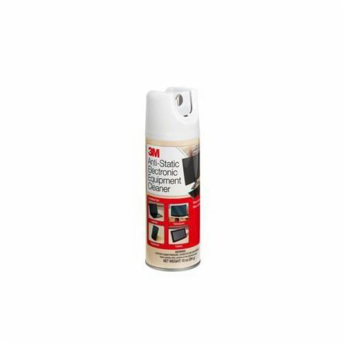 3M™ CL600 General Purpose Electronic Equipment Cleaner, 10 oz Aerosol Can, Slight Ammonia, Liquid, Foamy White