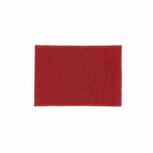 3M™ 5100 Rectangular Buffer Pad, 12 in L x 8 in W x 1 in THK, Non-Woven Polyester Fiber Abrasive
