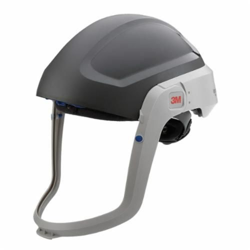 3M™ M-301 Respiratory Hardhat, For Use With Certain 3M™Powered Air Purifying and Supplied Air Respirator Systems, Gray