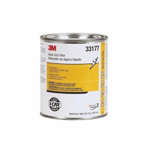 3M™ 33177 Quick Grip Filler, 1 qt Can, Paste