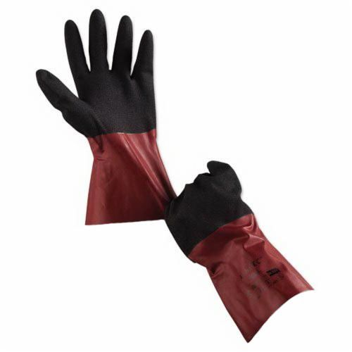 AlphaTec® 58-530-10 AlphaTec® 58-530-10 Unsupported Chemical Resistant Gloves, SZ 10, Burgundy, Nitrile