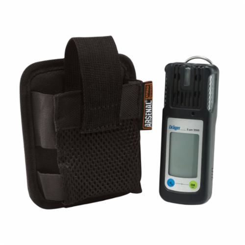 Arsenal® 13952 Gas Detector Pouch With PVC Backing, 1 Pockets, Black, 1200D Ballistic Polyester