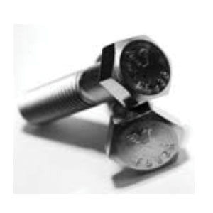 BBI 400028 Partially Threaded Cap Screw, 1/4-20, 3-1/2 in L, A2 (18-8) Grade, Imperial, Stainless Steel