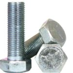BBI 847098 BBI 847098 Partially Threaded Cap Screw, 5/16-18, 4 in L, 5 Grade, Imperial, Medium Carbon Steel, Zinc CR+3