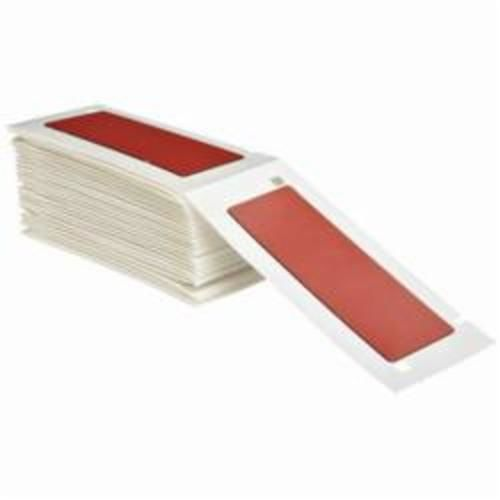 Brady® M71EP-176-593-RD Engraved Plate Raised Panel Label, 3 in W x 1 in H, Red, B-593 Polyester