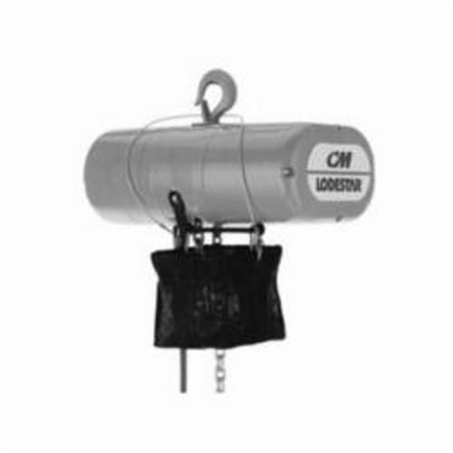 CM® 902634 Chain Bag, 25 ft/1/4 - 1/2 ton, 12 ft/3/4 - 1 ton, 11-3/8 in H, For Use With AirStar Series 2200 Air Hoist