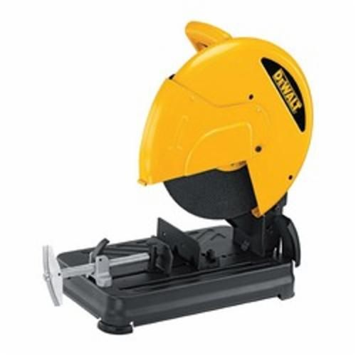 DeWALT® D28700 Chop Saw, 14 in Dia Blade, 1 in, 4-1/2 in Round, 4-3/4 x 5-1/3 in Rectangle Cutting, D-Handle Handle (Bare Tool)