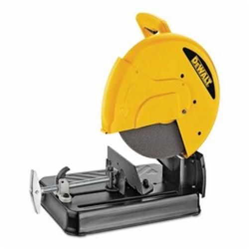 DeWALT® D28710 Abrasive Chop Saw, 14 in Dia Blade, 1 in, 5 in Round, 4 x 7-5/8 in Rectangular Cutting, D-Handle Handle (Bare Tool)