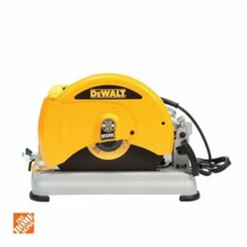DeWALT® D28715 Chop Saw With Quick-Change Blade System, 14 in Dia Blade, 1 in, Sheet Metal Housing, D-Handle Handle (Bare Tool)