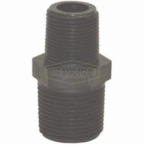Dixon® 62233 Reducing Pipe Nipple, 3/4 x 1/2 in, MNPT, Polypropylene, Domestic