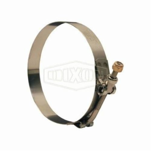 Dixon® STBCL Long T-Bolt Clamp, 14-7/16 to 15 in, 0.025 in T, Stainless Steel, Domestic