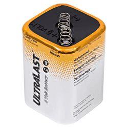 Duracell® PC908 Alkaline Lantern Battery, Alkaline, 6 VDC, 13 Ah