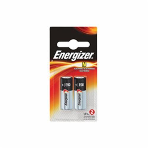 Energizer® E90BP-2 Non-Rechargeable Battery, Zinc-Manganese Dioxide, 1.5 V, 1000 mAh, E90/N