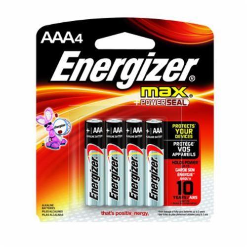 Energizer® KA56E92BP4 Alkaline Battery, AAA