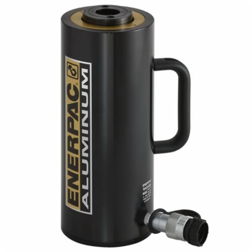 Enerpac® RACH Lightweight Single Acting Plunger Cylinder, 3.74 in Dia Bore, 5.91 in Stroke, 13.12 in H, 2.76 in Dia