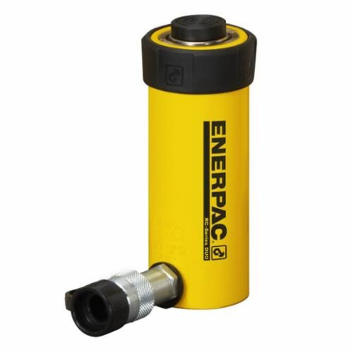 Enerpac® RC DUO General Purpose Single Acting Hydraulic Cylinder, 1.69 in Dia Bore, 1 in Stroke, 3.53 in H, 1-1/2 in Dia