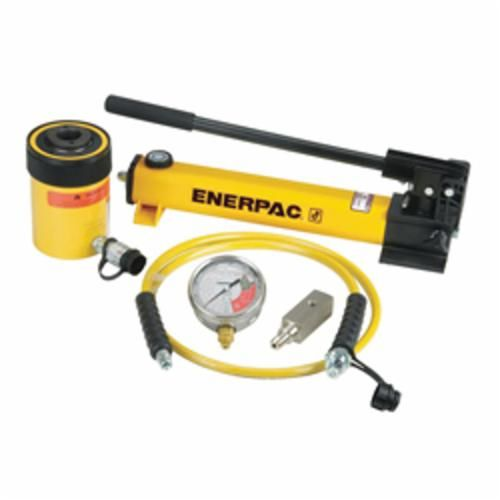 Enerpac® SCH-302H Single Acting Cylinder-Pump Set, 30 ton, 10000 psi, 0-22200 lb ga Scale