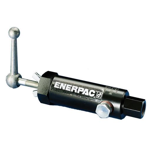 ENERPAC® V Pressure Relief Valve, 3/8-18, FNPT, 10000 psi, Steel Body
