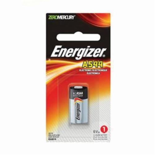 EVEREADY® A544BP Miniature Alkaline Battery, Zinc Manganese Dioxide, 6 VDC, A544