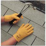 Fuzzy Duck® 962S-08 Fuzzy Duck® 962 Multi-Purpose Coated Gloves, SZ 8/S, Vinyl/PVC Palm, Yellow, Vinyl/PVC