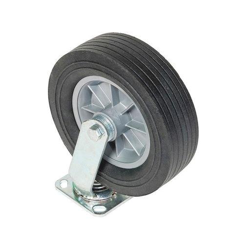 Greenlee® CST10 All Terrain Swivel Caster, 650 lb Load, 10 in Dia, Semi-Pneumatic Wheel