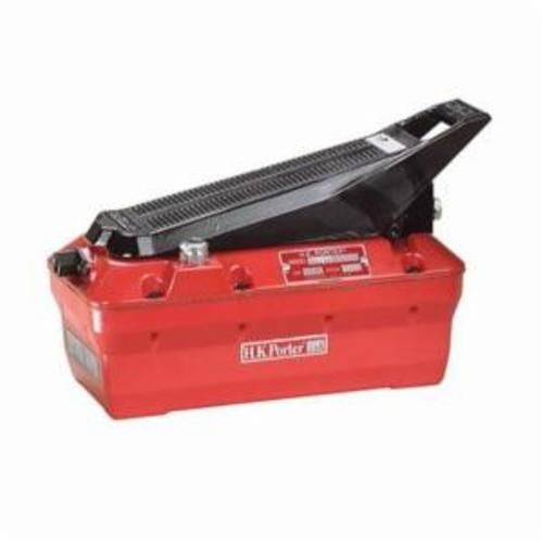 H.K. Porter® HKA01 Light Duty Portable Air Operated Hydraulic Pump, 12 cu-in/min at 7800 psi