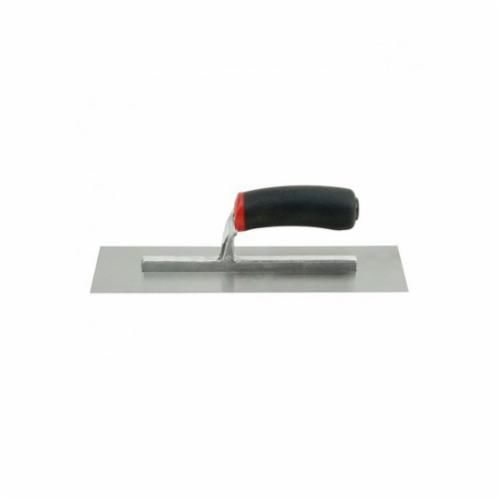 Hyde® 09960 Flat Finishing Trowel, 12 in L x 4 in W, High Carbon Steel Ground, Hardened Blade, Ergonomic Handle