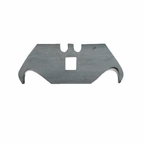 Hyde® 42250 Heavy Duty Hook Blade, 0.025 in, 1/4 in THK, High Carbon Chrome Vanadium Steel