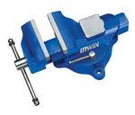 Irwin 226305ZR Irwin® Record® 226305ZR Heavy Duty Workshop Vise, 4 in Jaw Opening, 5 in W, Steel, 2.6 in Throat Depth