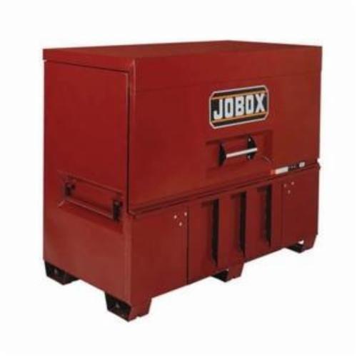 Jobox® 1-683990 Drop Front Jobsite Piano Box, 50 in x 30 in W x 60 in D, 48 cu-ft Storage, Steel