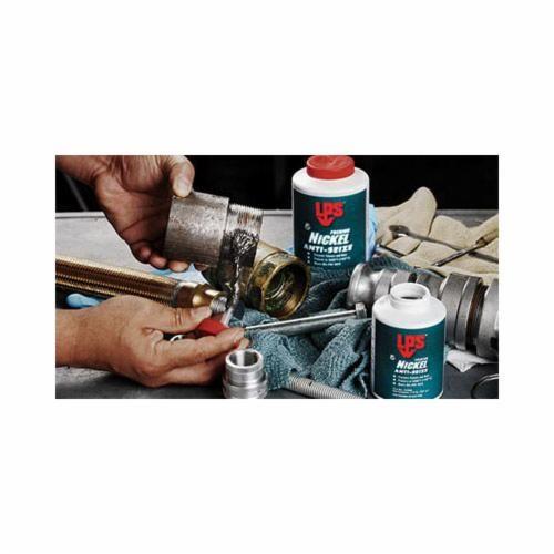 LPS® 03910 High Temperature Anti-Seize Lubricant, Aerosol Can, Solid Paste, Silver/Gray, 1 - 1.2