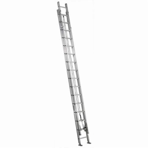 Louisville® AE1232HD Extra Heavy-Duty Extension Ladder, 32 ft OAL, 375 lb Load, 12 in Adjustable Increments, Aluminum
