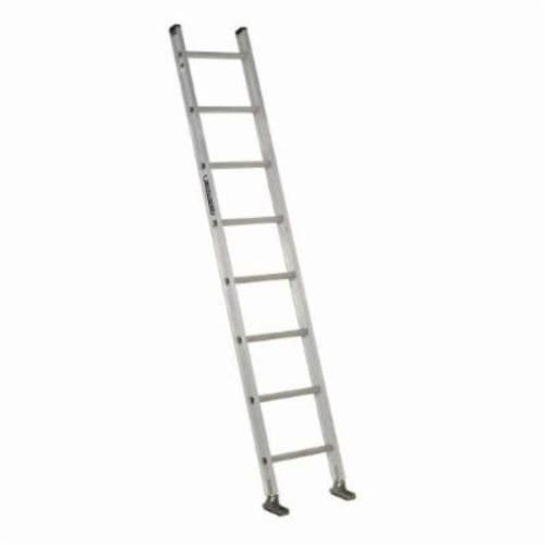 Louisville® AE2108 Extra Heavy-Duty Extension Ladder, 8 ft OAL, 300 lb Load, 12 in Adjustable Increments, Aluminum